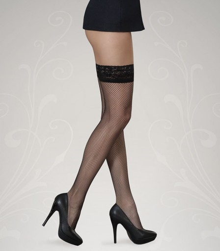 GORTEKS LUCIA Fishnet stockings