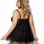 ANAIS FRIPA  night dress with thongs