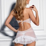AXAMI V-5069 babydoll with thongs