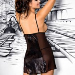 AXAMI V-5679 nightdress with thongs