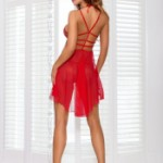 AXAMI V-6429 babydoll with thongs