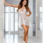 AXAMI V-6439 babydoll with thongs