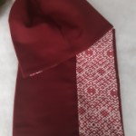 ULIZE Handmade  Cotton scarf with warm fleece lining