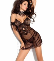 AXAMI V-5049 nightdress with thongs