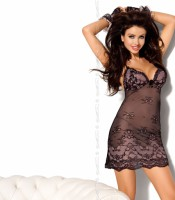 AXAMI V-5119 nightdress with thongs